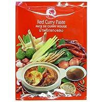 Pasta de curry de gallo, rojo, paquete de 6 (paquete de 6 x 50 g)