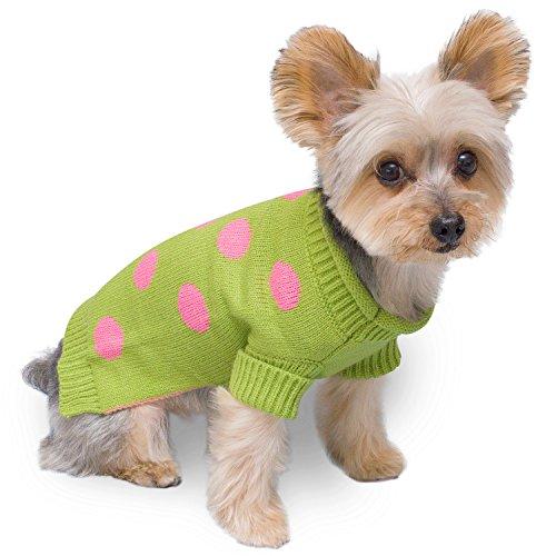 Stinky G Polka Dot Dog Sweater