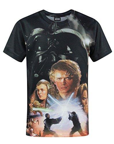 Star Wars Jungen Revenge of The Sith - T-Shirt (11-12 Jahre)
