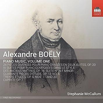 Boëly: Piano Music, Vol. 1