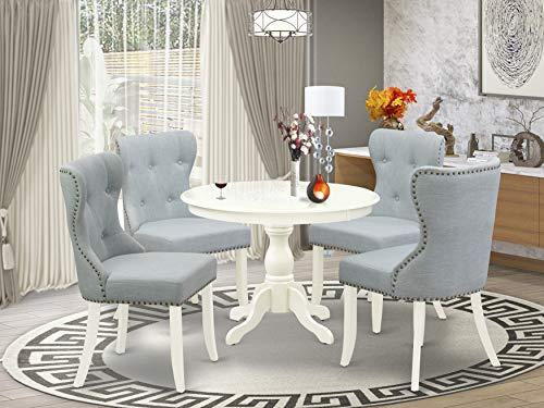 East West Furniture HBSI5-LWH-15, Medium