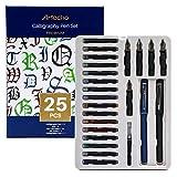 Artecho Calligraphy Pen 25pcs set, Includes...