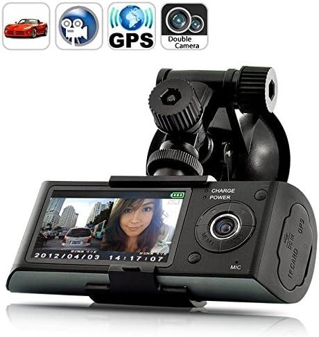 Generic CAEEGL01 Dual Camera Car Blackbox DVR with GPS Logger and G Sensor product image