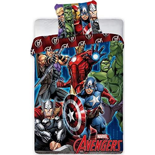 """Aymax S.P.R.L """"Avengers""""-Bettwäsche aus Baumwolle"""