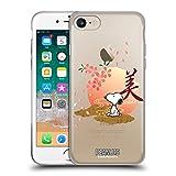 Head Case Designs Licenciado Oficialmente Peanuts Sakura Snoopy Oriental Carcasa de Gel de Silicona Compatible con Apple iPhone 7 / iPhone 8 / iPhone SE 2020