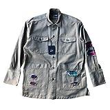 GREG LAUREN×PAUL&SHARKグレッグローレン コットンジャケット 【正規取扱店舗販売品】 (サイズM(着丈76、身幅50、肩幅55、袖丈65)) (サイズM(着丈82、身幅61、肩幅48、袖丈63))