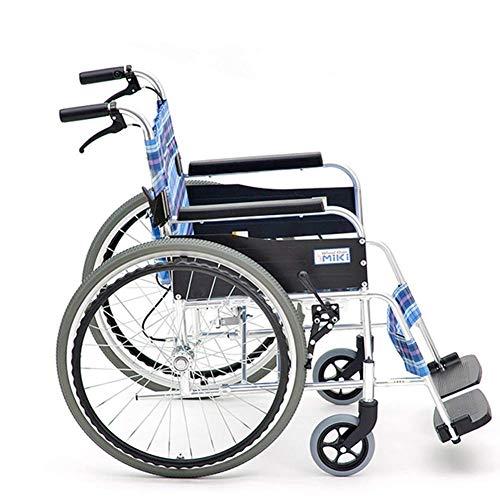 Inicio Accesorios Silla de ruedas plegable ligera para niños mayores Conducción médica Silla de ruedas para personas mayores plegable Ligero Pequeño ultraligero Viejo Viaje pequeño Apoyabrazos Trol