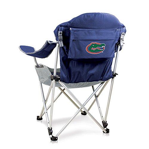 NCAA Florida Gators Reclining Camp Chair, Navy