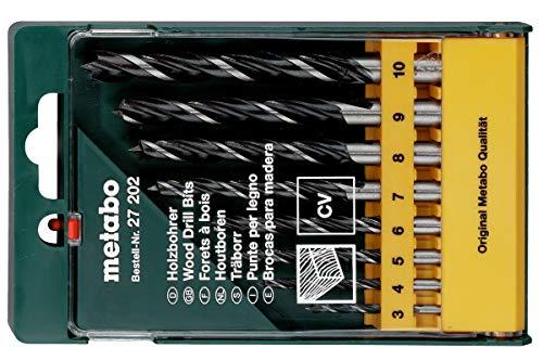 Metabo 627202000 Holzbohrer-Kassette 8-teilig