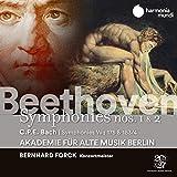 Beethoven: Symphonies Nos. 1 & 2 - C.P.E. Bach: Symphonies, Wq 175 & 183/17