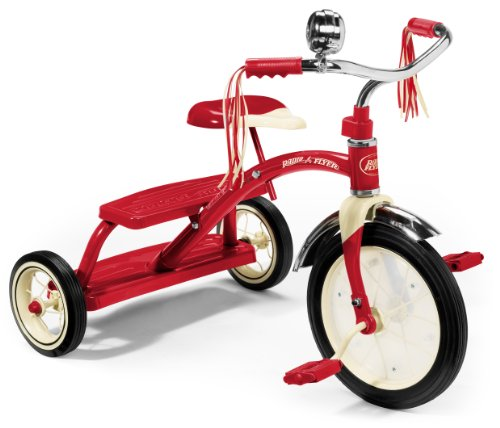 Imaginarium 97165 Flyer Klassisches Red Dual Deck Tricycle