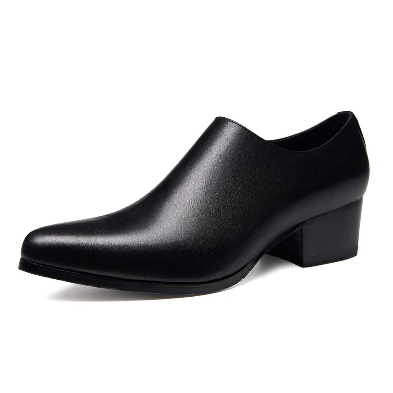 [Placck] ビジネスシューズ メンズ 紳士靴 本革 サイドジップ フォーマル ウォーキング 防水 防滑