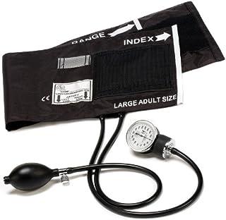 Prestige Medical 82-OB-BLK Adult Aneroid Sphygmomanometer, Large