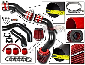 R&L racing For 02-06 Nissan Sentra SE-R/Spec V 2.5L Matte Black Cold Air Intake System + Filter