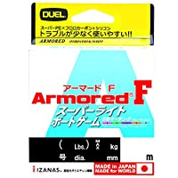 DUEL(デュエル) PEライン 0.6号 アーマード F スーパーライト ボートゲーム 10m×5色 スーパーライトジギング イカメタル ティップラン バチコン H4164