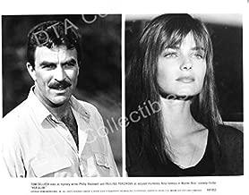 MOVIE PHOTO: HER ALIBI-1989-TOM SELLECK-PAULINA PORIZKOVA-B&W-STILL FN