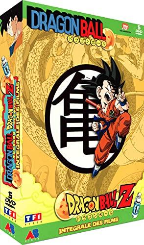 Dragon Ball & Dragon Ball Z - Intégrale des Films - Coffret Vol. 1 (5 DVD)