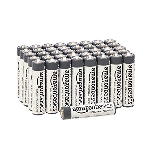 AmazonBasics AAA Industrial Alkaline Batteries (Pack of 40)