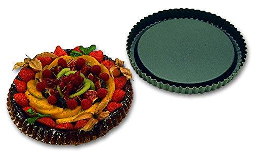 Moule professionnel à tourtiére fruits frais Exopan à 280 mm de diamétre