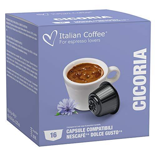 64 Capsule Italian Coffee compatibili Nescafé Dolce Gusto®* (Cicoria)