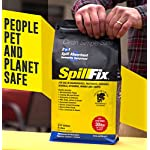 SPILLFIX - 2 in 1 Spill Absorbent & Sweeping Compound 9 Liter Bag - Safe, 100% Organic, Easy to Use Universal Absorbent for Hazardous and Non-Hazardous Spill Cleanups Planet and People Safe