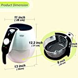 Sonya Air Fryer Oil Free/less Oil New Rapid Air Technology 360°air Heating Circulation-SYAF-98HF