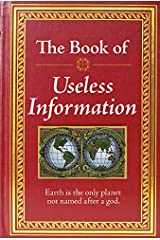 The Book of Useless Information Hardcover