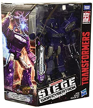 Transformers Generations War for Cybertron  Siege Leader Class WFC-S14 Shockwave Action Figure
