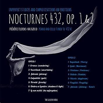 Nocturnes 432, op. 1 & 2