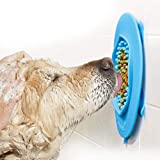 LumoLeaf Dog Slow Feeder Lick Mat, Interactive Stimulation Toys to Release Stress, Boredom and Anxiety, Peanut Butter Lick Pad for Pet Grooming, Bathing and Training
