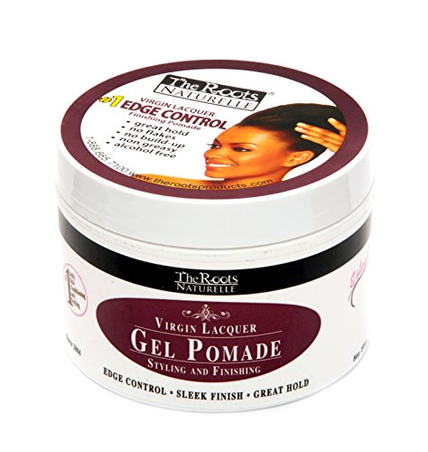 The Roots Naturelle Virgin Lacquer Gel Pomade For Edge Control (8 oz...