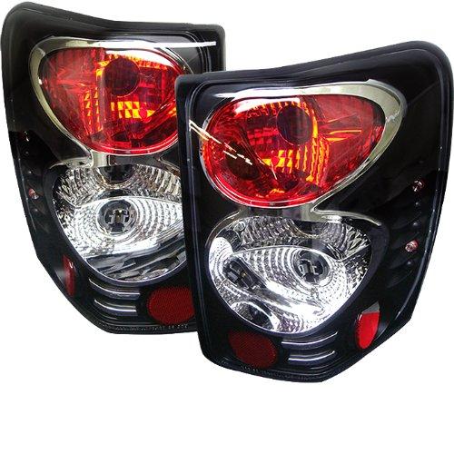 Jeep Grand Cherokee 99-04 Euro Style Tail Lights - Black
