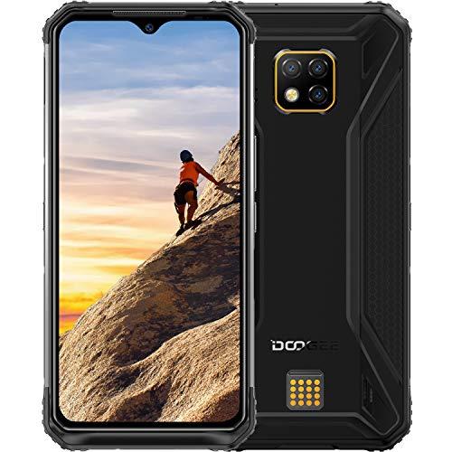 Rugged Cell Phone DOOGEE S95 Unlocked Smartphones (2020) Helio P90 48MP Triple Rear Camera 6GB RAM+128GB ROM 5150mAh IP68 Waterproof Dropproof Dust Proof 6.3