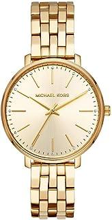Michael Kors Pyper Women's Gold Dial Stainless Steel Analog Watch - MK3898
