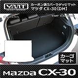 CX-30 カーボン調ラバーラゲッジマット(トランクマット)マツダDM系CX30 YMT