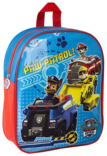Children's Character Backpacks (Wipe Clean Surfaces) (Paw Patrol (Boys) 8039)