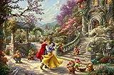 Ceaco Thomas Kinkade The Disney Collection Snow White Sunlight Jigsaw Puzzle, 750 Pieces