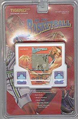 All Pro Basketball 1994 Tiger Handheld Electronic LCD Game Model 7-717 from Tiger