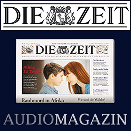 DIE ZEIT, September 06, 2018 cover art