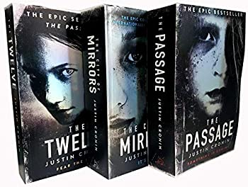 Justin Cronin The Passage Trilogy 3 Books Collection Set  The Passage The Twelve The City of Mirrors