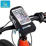 Roswheel 自転車用 スマートフォン ハンドルバー サイクリングバッグ ブラック