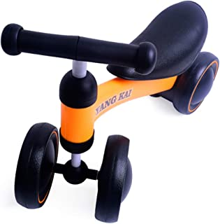 YANG KAI Baby Toys Balance Bike Toddler Toys No Pedal 4 Wheels Bicycle Baby Walker Ride on Toys for 1 Year Old Best 1st Birthday Gift