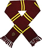 Harry Potter Gryffindor House Scarf with Faux Leather Patch