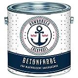 Betonfarbe SEIDENMATT Anthrazitgrau RAL 7016 Grau Bodenfarbe Bodenbeschichtung Betonbeschichtung Fassadenfarbe // Hamburger Lack-Profi (2,5 L)