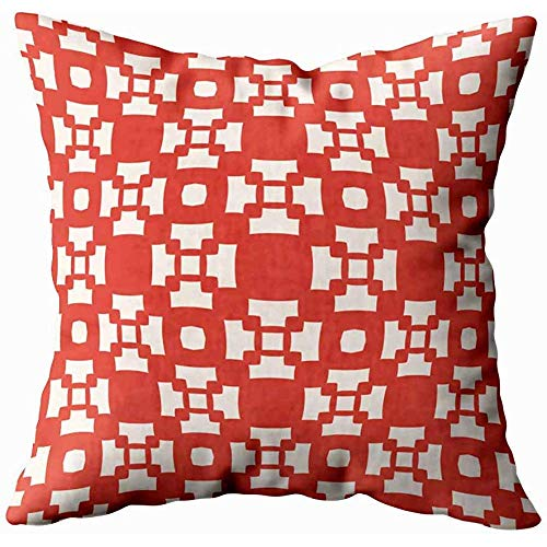 Juli kussenhoes Raster geometrisch patroon Net Repeat Tegels Abstract Ornament Textuur in