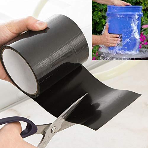 Qwertyu LIFUQIANGME 145 x 10 cm Super Strong vezeltape waterdicht afsluiten lekken reparatie afdichttape auto Fix Tape plakband Fiberfix lijm, 1300mm, 100mm
