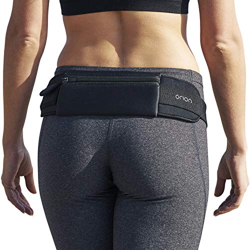 Mind and Body Experts Amazing Running Belt Fits iPhone 6 Plus Waist Pouch for Running keeps Credit Cards, Cash, Makeup, ID, Running Waist Pack and Holder for Sports