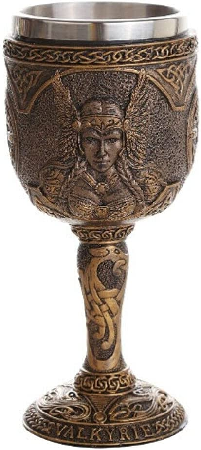The Decor That is Max 43% OFF Adored Valkyrie Goblet Cup Chalice New R- Wine Selling