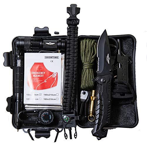 Steindal ® Survival Set // Outdoor Set // NEU /// Versand aus Deutschland // Für Camping, Outdoor, Urlaub, Survival // Alles was Du brauchst für Extremsituationen