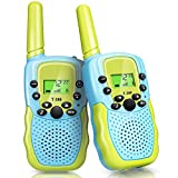 STENDA Walkie Talkies for Kids, 2PCS Toys for 3-12 Year Old Boys Girls, Ultra Long Distance Communication, Walkie Talkie with Backlit LCD, Flashlight, Camping, Hiking, Gifts